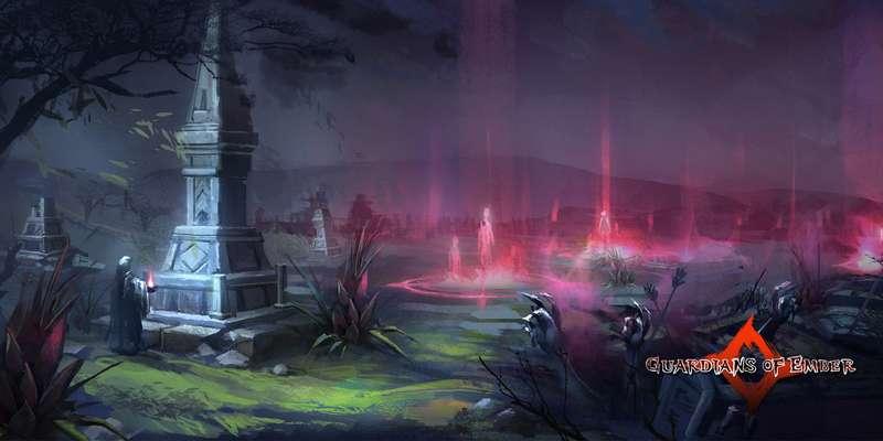 Guardians of Ember: MMORPG hack'n'slash in early access