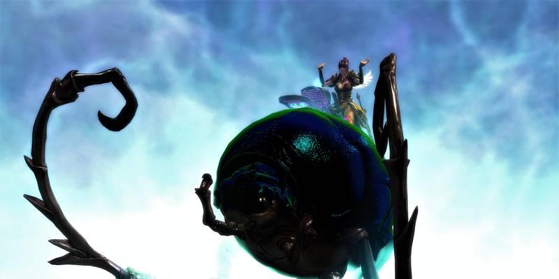 Guild Wars 2: L'ultimo update ci permette di partecipare a gare tra scarafaggi