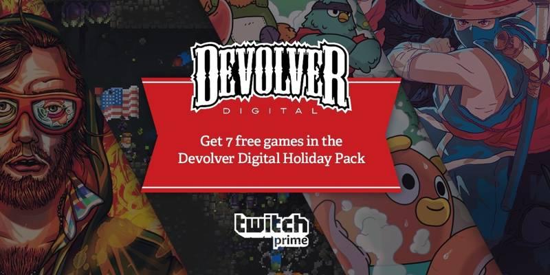 Devolver Digital regala 7 giochi in collaborazione con Twitch Prime