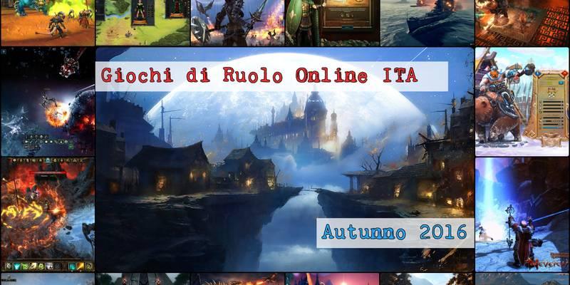Giochi di Ruolo \ GdR online gratis e in italiano [Autunno 2016]