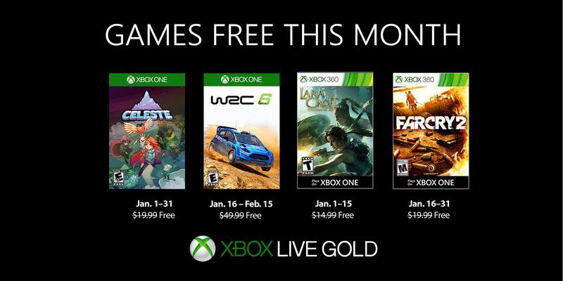 Games With Gold: Rivelati i giochi gratuiti di Gennaio