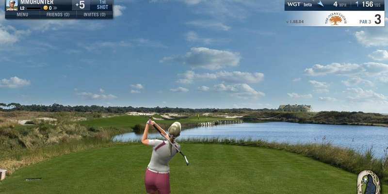 World Golf Tour - Gameplay