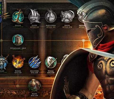 Sparta: War of Empires in-game screenshot 3