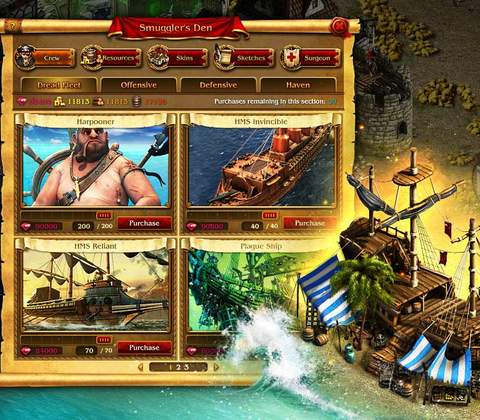 Pirates: Tides of Fortune in-game screenshot 7