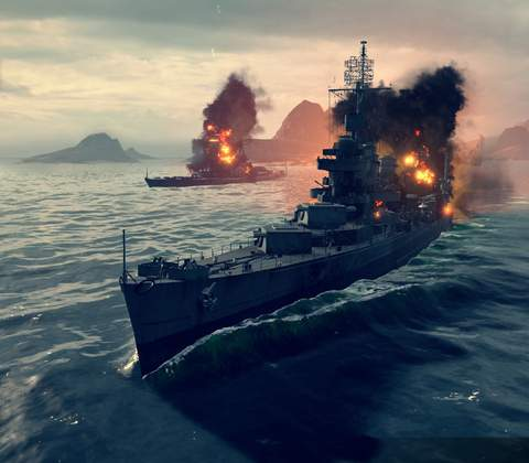 World of Warships in-game screenshot 5
