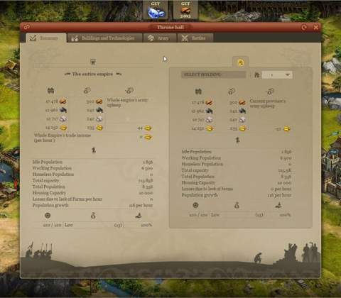 Imperia Online in-game screenshot 3