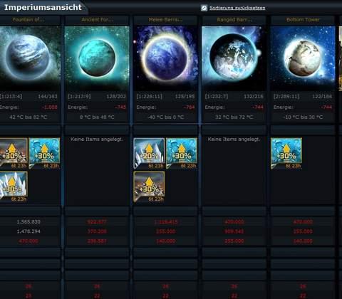 Ogame in-game screenshot 5