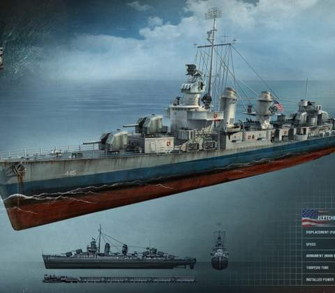 World of Warships in-game screenshot 15