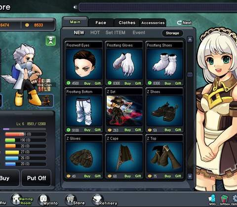 Rumble Fighter in-game screenshot 1