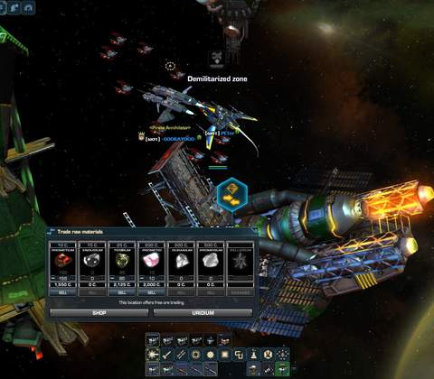Dark Orbit in-game screenshot 4
