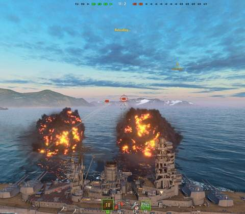 World of Warships in-game screenshot 3