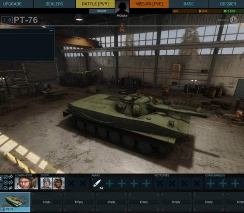 Armored Warfare in-game screenshot 1