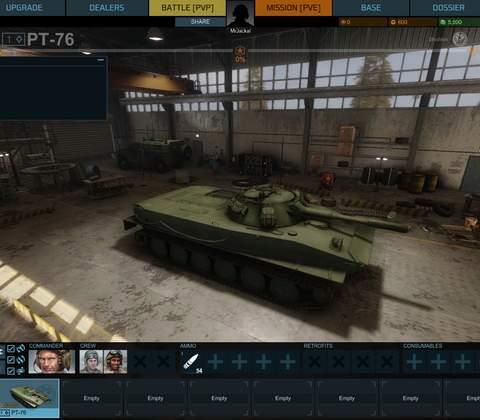 Armored Warfare in-game screenshot 1