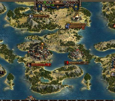 Sparta: War of Empires in-game screenshot 8