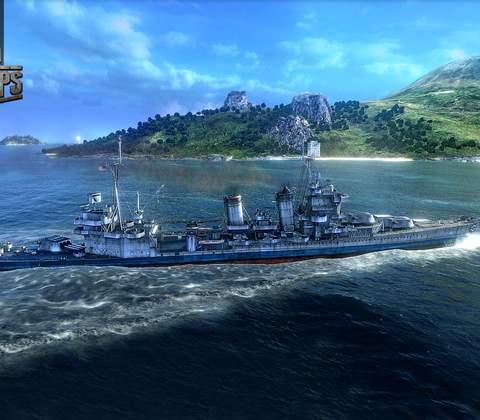 World of Warships in-game screenshot 1