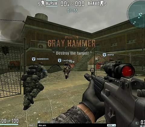 Combat Arms in-game screenshot 1