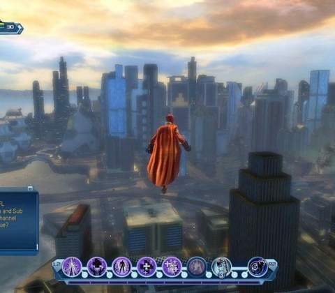 DC Universe Online in-game screenshot 1
