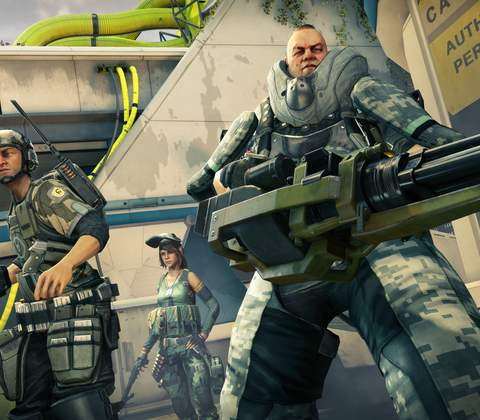 Dirty Bomb in-game screenshot 1