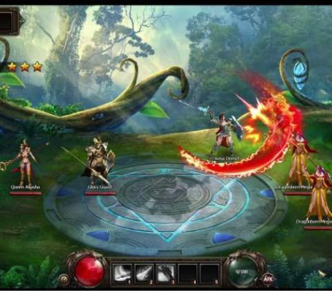 Dragon Blood in-game screenshot 4