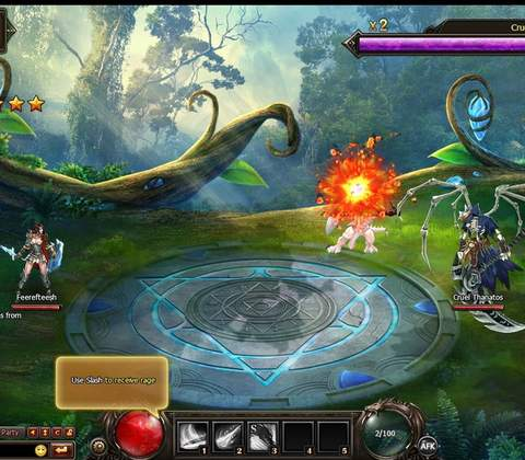 Dragon Blood in-game screenshot 1