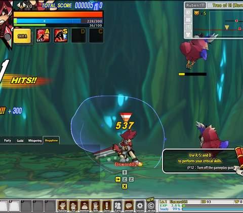 Elsword in-game screenshot 3