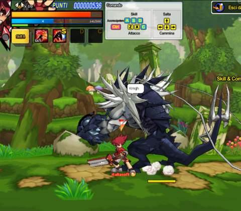 Elsword in-game screenshot 4