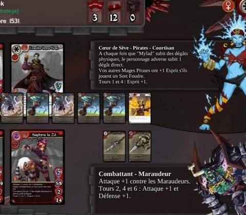 Eredan iTCG in-game screenshot 1