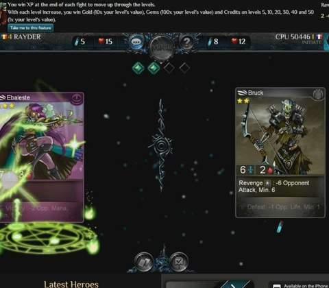 Fantasy Rivals in-game screenshot 3