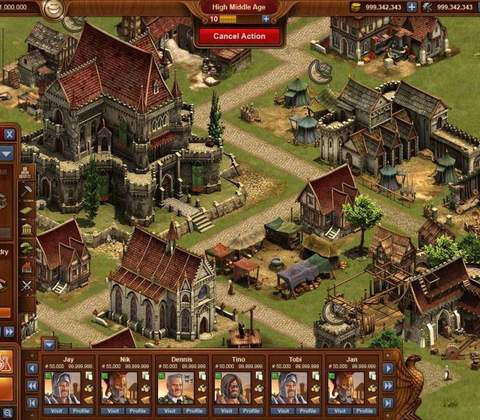 Forge of Empires in-game screenshot 2