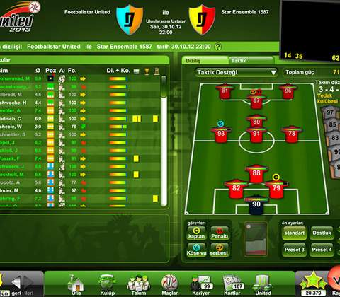 Goal United in-game screenshot 3