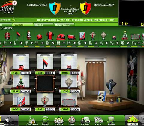 Goal United in-game screenshot 5