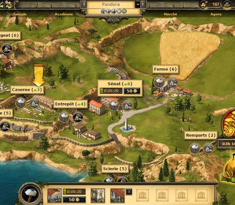 Grepolis in-game screenshot 4