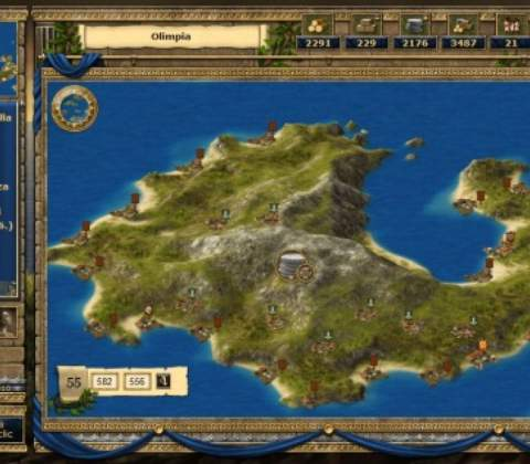 Grepolis in-game screenshot 3