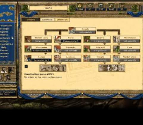 Grepolis in-game screenshot 2