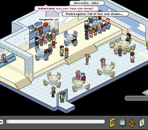 Habbo Hotel in-game screenshot 6