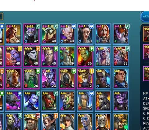 RAID: Shadow Legends in-game screenshot 32