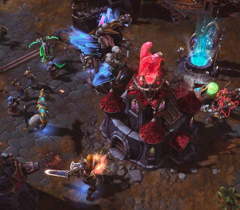 Heroes of the Storm in-game screenshot 1