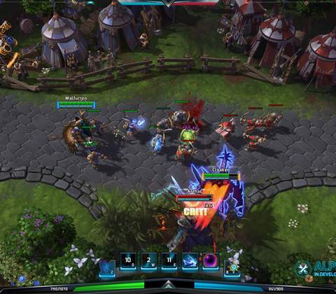 Heroes of the Storm in-game screenshot 2