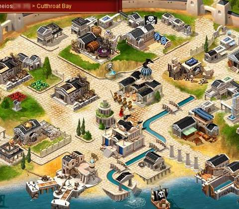 Ikariam in-game screenshot 2