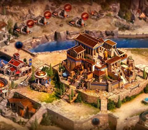 Sparta: War of Empires in-game screenshot 1