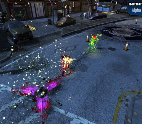 Infinite Crisis in-game screenshot 5