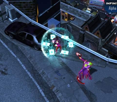 Infinite Crisis in-game screenshot 6