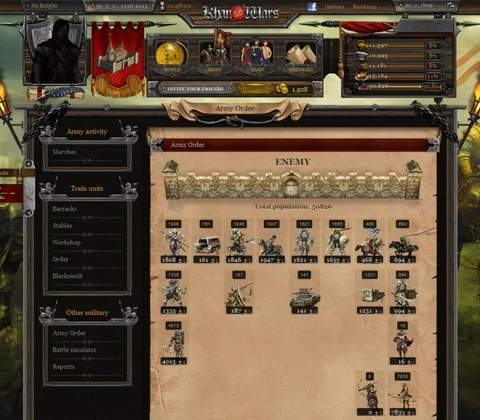Khan Wars in-game screenshot 7