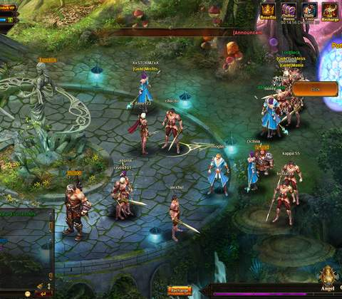 Review of League of Angels - MMO & MMORPG Games