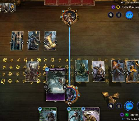 The Elder Scrolls: Legends in-game screenshot 1