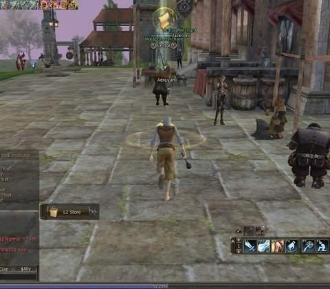 Lineage II in-game screenshot 3