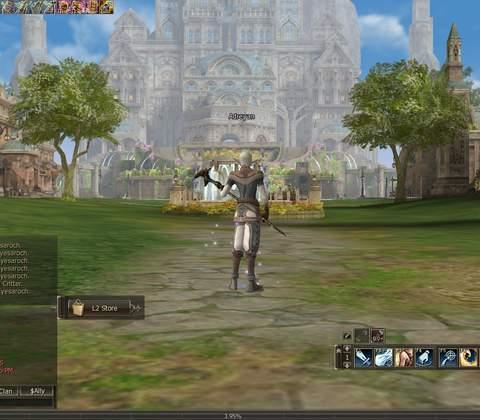 Lineage II in-game screenshot 5