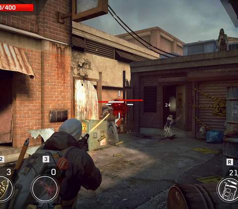 Left To Survive in-game screenshot 1