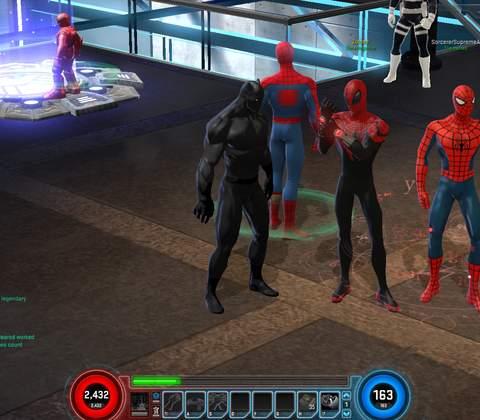 Marvel Heroes in-game screenshot 6