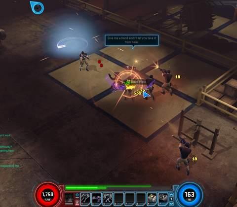 Marvel Heroes in-game screenshot 3